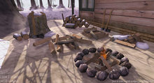 Sari-Sari - Cabin Firewood