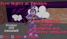 FNaF (Five Nights at Freddy's): Bonnie Bunny's Guitar