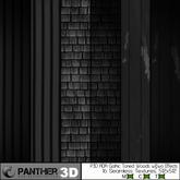 P3D ADA Gothic Toned Wood Elements w&w/o Effects