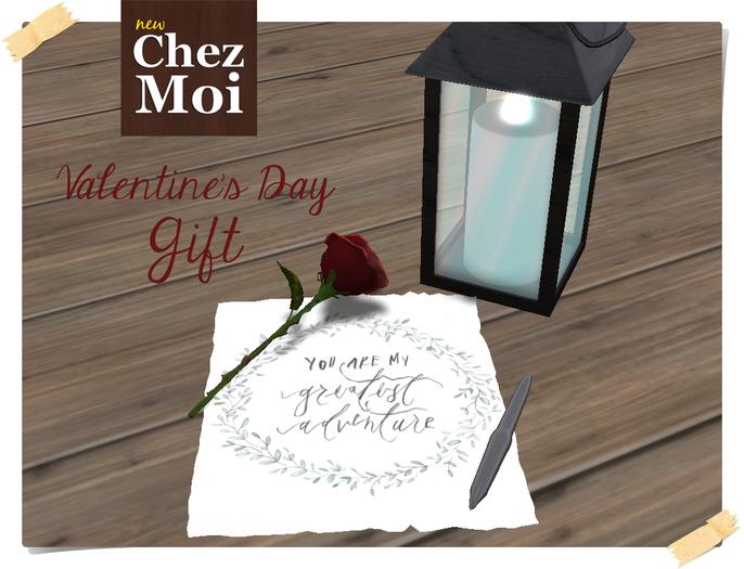 Valentines Gift ♥ CHEZ MOI