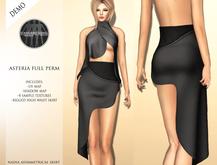 Asteria Full Perm - Nadia High Waist Asymmetrical Skirt - DEMO