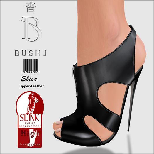 Bushu Elise Black