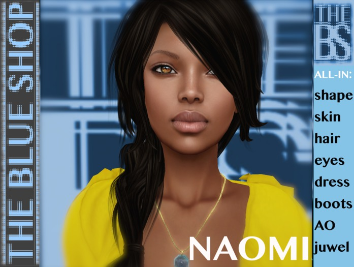 NAOMI Complete avatar NEW!