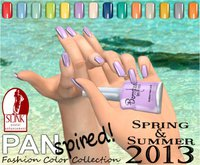 :{B}: PANspired! Spring/Summer 2013 Color Collection Full Cover Flats