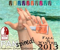 :{B}: PANspired! Fall/Winter 2013 Color Collection Full Cover Flats