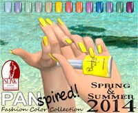 :{B}: PANspired! Spring/Summer 2014 Color Collection Full Cover Flats
