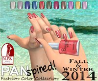 :{B}: PANspired! Fall/Winter 2014 Color Collection Full Cover Flats