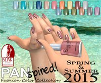 :{B}: PANspired! Spring/Summer 2015 Color Collection Full Cover Flats