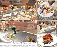 Dream Kitchen Dining Room Set v11