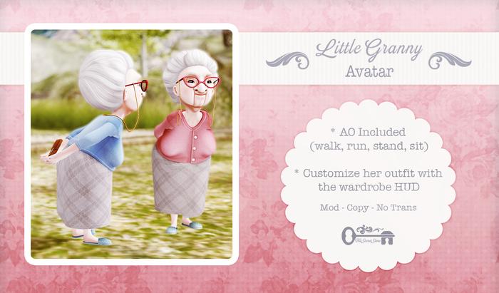 The Secret Store - Little Granny Avatar - Boxed