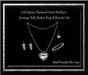 Cele'Sations Diamond Heart Jewelry Set