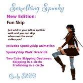 Spunky Skip Walking Animation