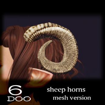 *6DOO* sheephorns mesh