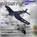 Corsair F4U EG Aircraft (box)
