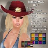 !SOUL - HAIR Mesh - Cattleya - 12 Nuances -  Colors Set 1