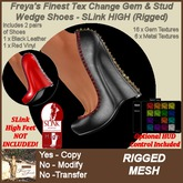Freya's Finest SLink HIGH Rigged TC Gem & Stud Wedges - Twin Pack