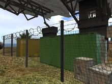 Barbed Wire Chain Link Fence