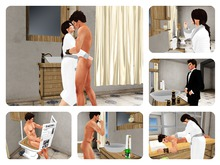 Luxury Fantasies Complete Bathroom for couples (boxed, PG)