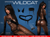 GRAVES Wildcat - latex catsuit / body suit with leather + Omega, Slink, TMP