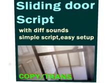 Sliding Door Script (boxed)