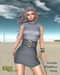 Babele Fashion :: Loretta Minidress Gray