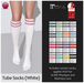 Izzie's - Tube Socks (White)