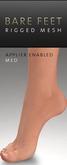 Maitreya Gold - Mesh Feet Med