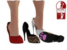 Slink High Paw Heels (Texture Change)
