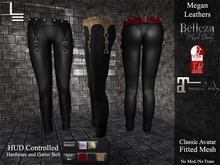DE Designs - Megan Leathers - Black