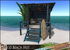 HeadHunter's Island - S5 Small Beach Hut set - 104 animations - 4 colors - MESH