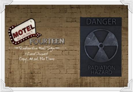= MoteL 14 = Radioactive Sign
