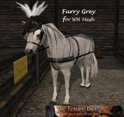 The Texture Barn - Furry Grey  for WH Mesh Horse