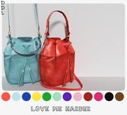 [DDL] Love Me Harder (Black) Bucket bag