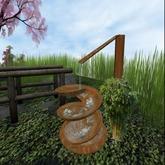 KK Japanese Fountain (Wood) -MC