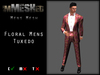 imMESHed - Floral Mens Tuxedo