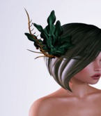 OrsiniRed Headpiece Frosted Bloom Moss