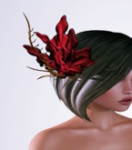 OrsiniRed Headpiece Frosted Bloom Blush