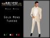 imMESHed - Gold Mens Tuxedo