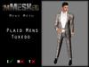 imMESHed - Plaid Mens Tuxedo