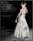 !!TWA!! My True Love Knows Gown Set-Eternal