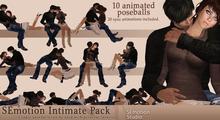SEmotion Intimate Pack - 10 animated poseballs