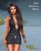 Babele Fashion :: Zipp Minidress Black