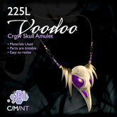 ::Static:: Crow Skull Blood Amulet