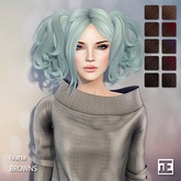 TRUTH HAIR Ivana (Mesh Hair) - browns