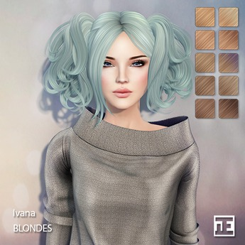 TRUTH HAIR Ivana (Mesh Hair) - blondes