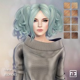 TRUTH HAIR Ivana (Mesh Hair) - blondes