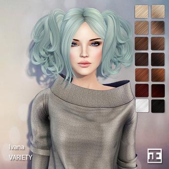 TRUTH HAIR Ivana (Mesh Hair) - variety