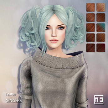 TRUTH HAIR Ivana (Mesh Hair) - gingers