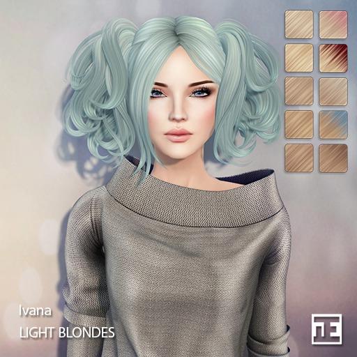 TRUTH HAIR Ivana (Mesh Hair) - light blondes