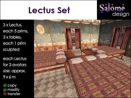 Roman Lectus Set